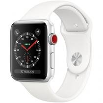 67a0bfc9cc9 Apple Watch Series 3 42mm Cellular GPS Integrado - Wi-Fi Bluetooth Pulseira  Esportiva 16GB