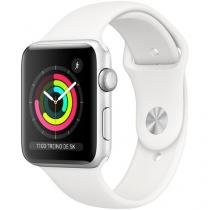 Apple Watch Series 3 42mm GPS Integrado  - Wi-Fi Bluetooth Pulseira Esportiva 8GB