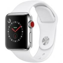 Apple Watch Series 3 GPS + Cellular 38mm Wi-Fi - Bluetooth Pulseira Esportiva 16GB Caixa Aço