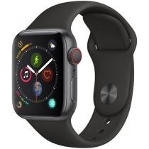 Apple Watch Series 4 40mm Cellular GPS Integrado - Wi-Fi Bluetooth Pulseira Esportiva 16GB