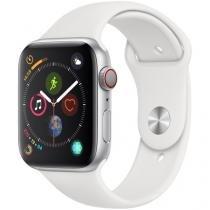 Apple Watch Series 4 44mm Cellular GPS Integrado - Wi-Fi Bluetooth Pulseira Esportiva 16GB