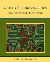 Applied electromagnetics: early transmission lines approach - Wie - wiley international editions