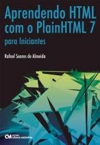 Aprendendo html com plainhtml 7 para iniciantes - Ciencia moderna