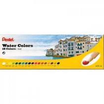 Aquarela em Tubo Pentel c/18 cores -