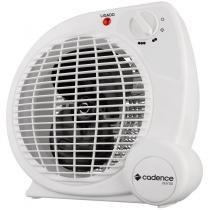 Aquecedor Elétrico com ventilador e duas temperaturas - Cadence Termoventilador Auros Portátil -