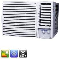 Ar condicionado de janela springer 18.000 Btu/h frio mecânico silentia - 220v -