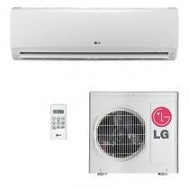Ar condicionado lg split hi wall smile 9000 btus quente/frio 220v ts-h092w4w0 -