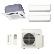 Ar Condicionado Multi Split Inverter Daikin Advance 2X9000(HW) + 1X12000(Cassete) BTU/s Quente/Frio 220V 1F - DAIKIN