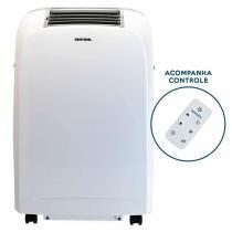 Ar condicionado portátil 10.000 btus com controle remoto - R410A (220V) - Ventisol