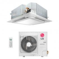 Ar condicionado split cassete 17000 btu/s frio 220v lg inverter atnq18gple5 - Lg