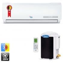 Ar condicionado split hi wall midea luna 18.000 Btu/h quente/frio horizontal -