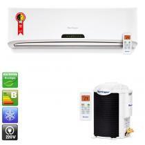Ar condicionado split hi wall springer up 18.000 Btu/h frio - 220v -