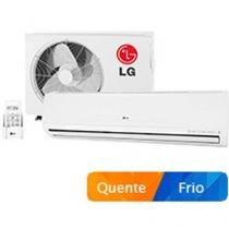 Ar-Condicionado Split LG 24000 BTUs Quente/Frio - Filtro 3M Smile TS-H2425NW1