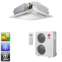 Ar condicionado split lg cassete convencional 48.000 btu/h frio 220v - lt-c48bmle0 -