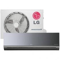 Ar-Condicionado Split LG Inverter 12000 BTUs Frio - Líbero Art Cool AS-Q122BRG2 Autolimpante