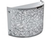 Arandela Meia Cana 1 Lâmpada 40W - Taschibra Brilliance Calha
