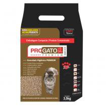 Areia Higiênica Gatos ProGato Premium 3,5 kg -