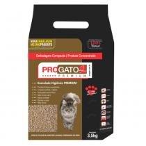 Areia Higiênica Gatos ProGato Premium 3,5 kg - Progato