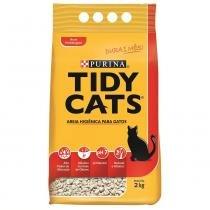 Areia Higiênica Tidy Cats Purina 2 kg - Nestlé Purina