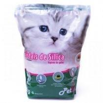 Areia Petlike De Silica Para Gatos 1,6kg Aroma Natural -