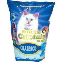 Areia silica para gatos 1,8 kg chalesco -