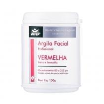 Argila facial profissional vermelha 150g  wnf - Wnf