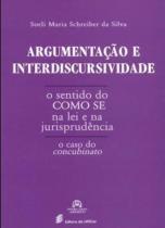 Argumentaçao e interdiscursividade - o sentido do - Edufscar