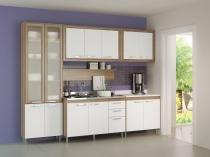 Armário de Cozinha Aéreo Toscana 3 Portas - Multimóveis 120x67cm