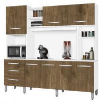 Armário de Cozinha Holanda 2.2 Branco com Ferrara - CSA Móveis - CSA Móveis