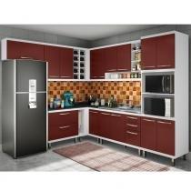 Armário de Cozinha Modulada Slim 13 peças - Ws