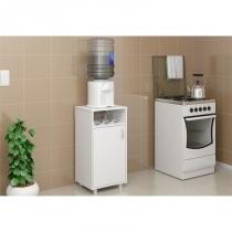Armário de Cozinha para Bebedouro com 42,5 cm de Largura - Politorno - Branco -