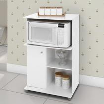 Armário de Cozinha para Micro-ondas Natália - 1 Porta Somopar 61x101cm