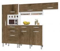 Armário de Cozinha Tóquio 2.7 Paneleiro Duplo Branco com Ferrara - CSA Móveis - CSA Móveis