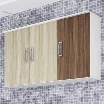 Armário de Cozinha Triplo Poliman Móveis - 3 Portas