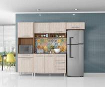 Armário para Cozinha 4 Peças Carol Montana Elmo - Madine Móveis -