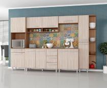 Armário para Cozinha  Carol 7 Peças Montana Elmo - Madine Móveis -