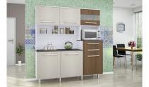 Armário para Cozinha Suprema Gold Branco Elmo Montana - Madine Móveis -