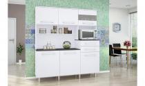 Armário para Cozinha Suprema Gold Branco - Madine Móveis -