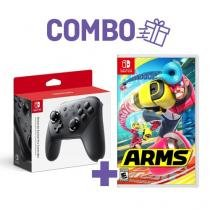 Arms + pro controller - switch - Nintendo