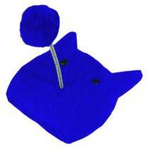 Arranhador cara de gato  azul - Belt dog