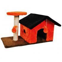 Arranhador casinha terrea - Divertcat