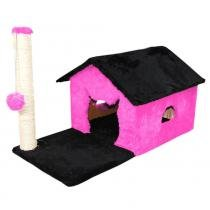 Arranhador casinha terrea  rosa - Belt dog