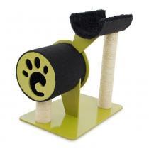 Arranhador Full para Gatos Dourado/Preto 7015 - Carlu -