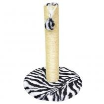 Arranhador para Gatos 1 Plataforma Grande Estampado - Zebra - São Pet