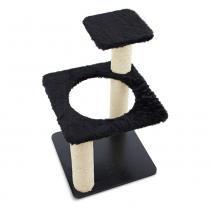 Arranhador Ring para Gatos Preto 7017 - Carlu -