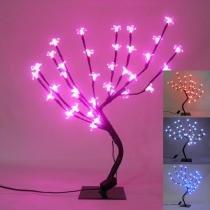 Arvore Cerejeira 36 Leds Abajur 54cm Luminaria Decoracao Natal (89227) - Ab midia