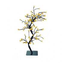 Árvore De Led Cerejeira 96 Leds Claro Natal 57 Cm Bivolt - Cromus