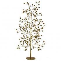 Árvore de Mesa de Metal Dourada Santini Christmas 70cm Brilhance -