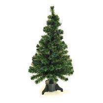 Árvore de Natal Fibra Ótica 120Cm 110V Colorido - Cromus