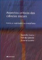 Aspectos criticos das ciencias sociais - Unisinos